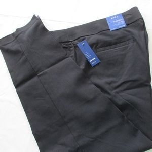 NWT - APT. 9 black straight pants - sz 18W S - $50